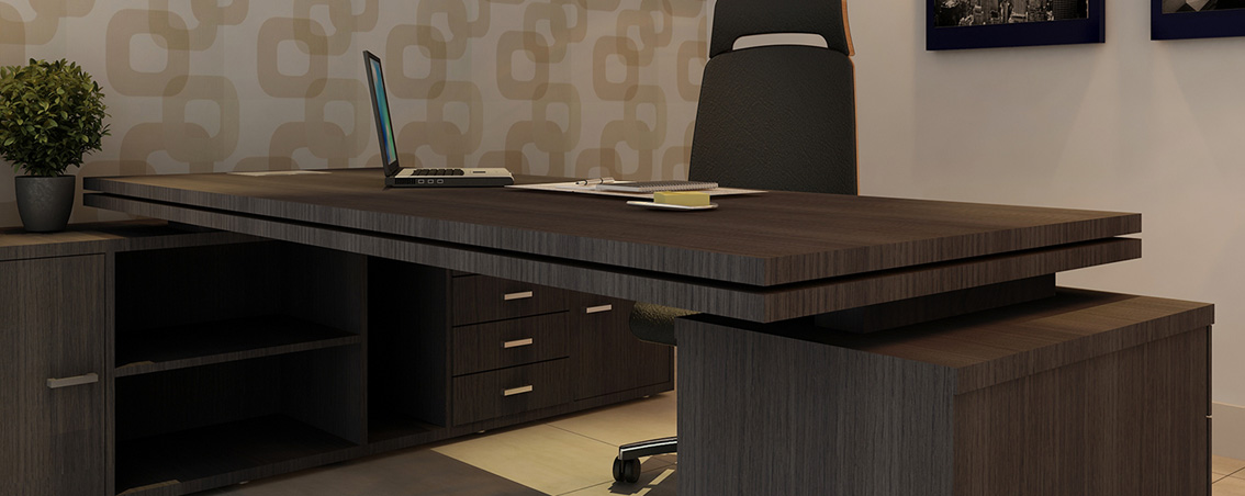 Produtividade e conforto com mesas para escrit rio rs design - Mesas de escritorio ...