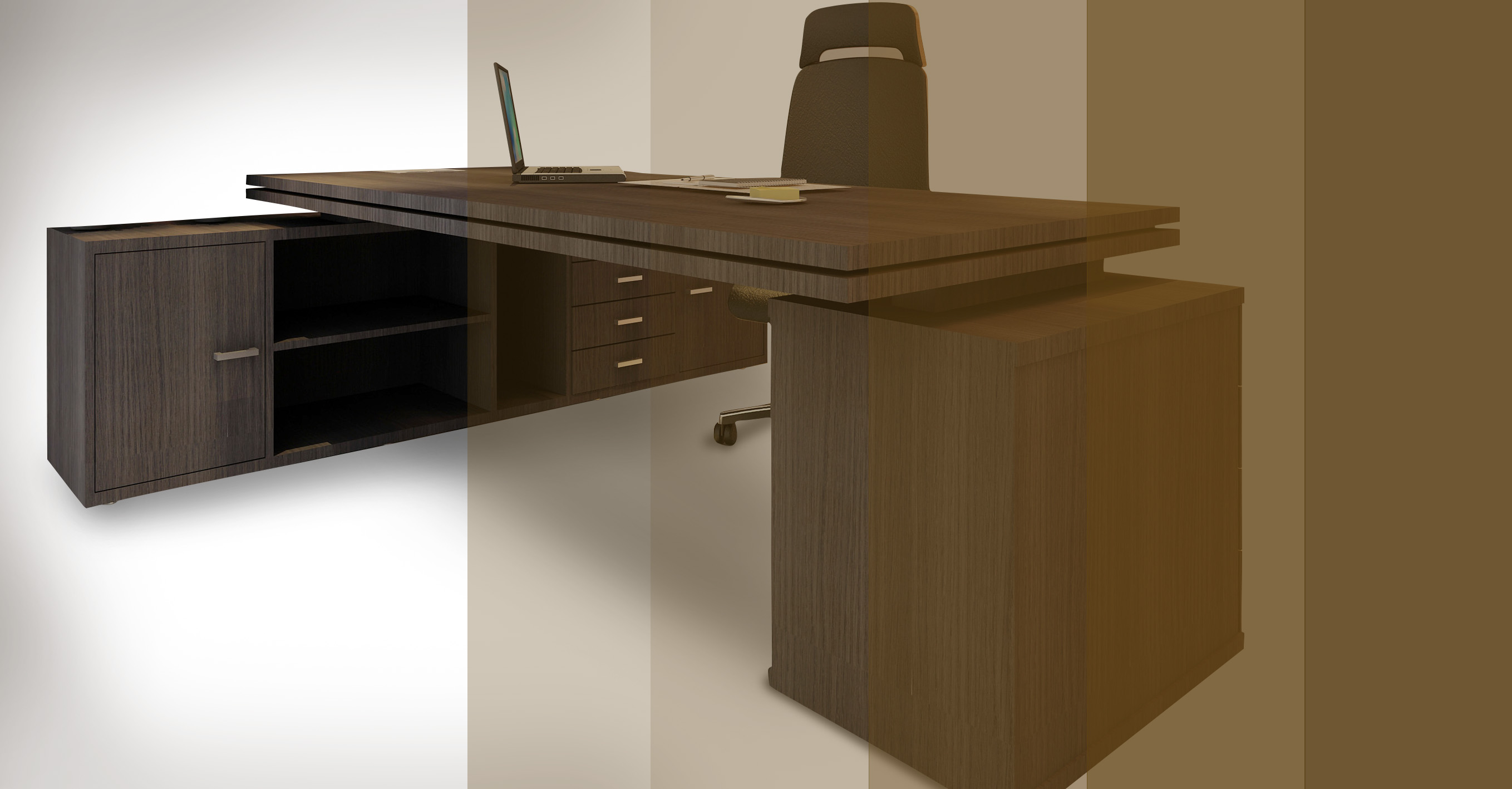 Mesa executiva rs design - Mesas escritorio ...