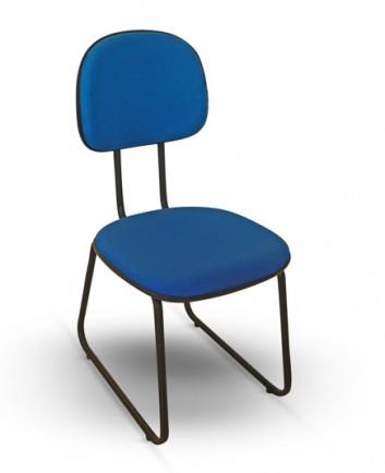 Cadeira Fixa para Visita Infinite Secretária Sky