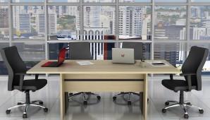 Mesa de Reunião Omega