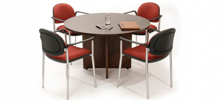 Mesa de Reunião Zic Redonda
