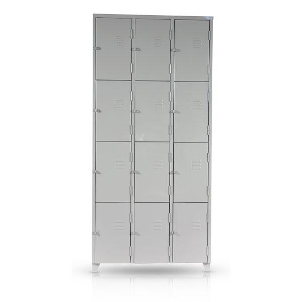 Roupeiro de Aço - 12 Portas