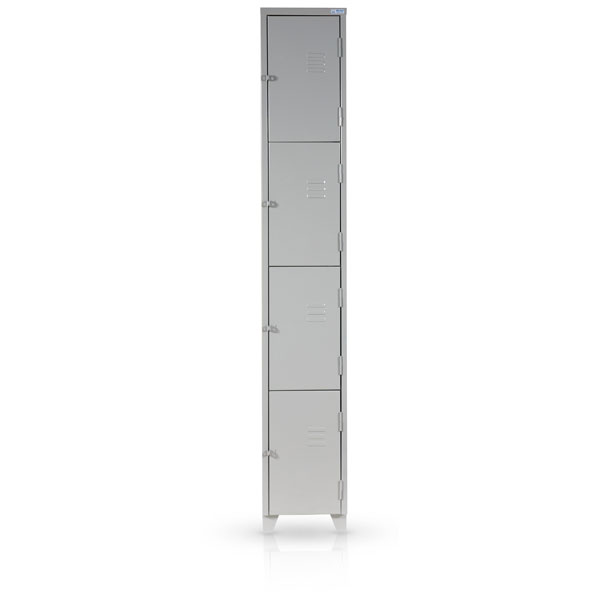 Armario Roupeiro Em Aço 4 Portas : Roupeiro de a?o portas vertical rs design