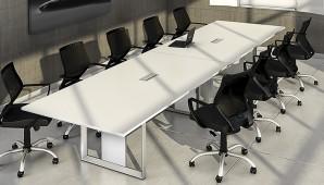 Mesa de Reunião Aluminium