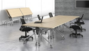 Mesa de Reunião Dobrável