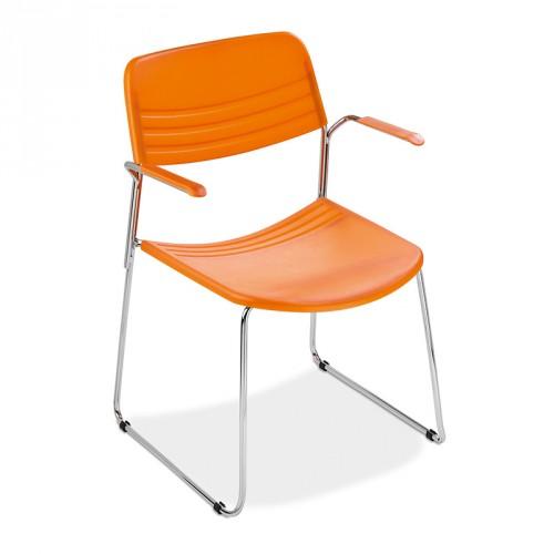 Cadeira Fixa para Visita Mix