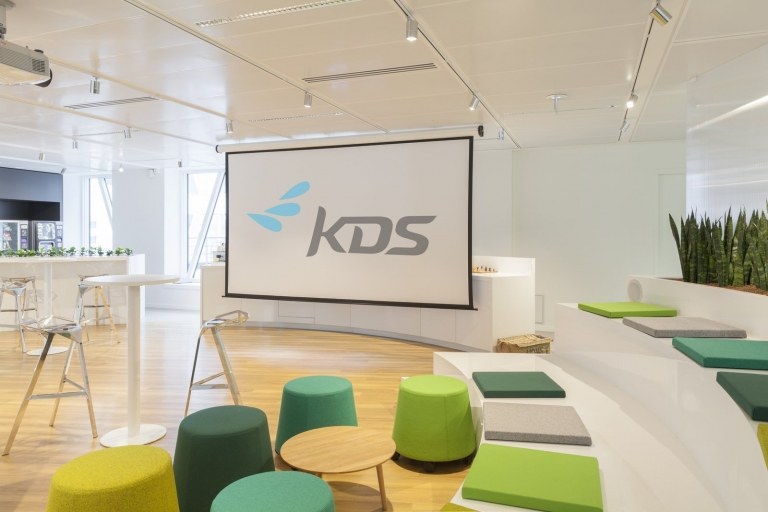KDS Office Design. Crédito: Officesnapshot