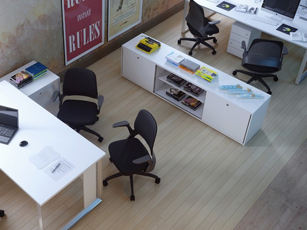Arquitetura corporativa pede mobiliário  apropriado e com boa durabilidade