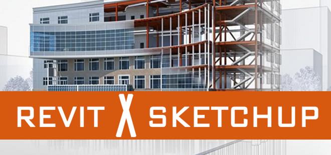 Revit ou SketchUp? Qual o melhor rendimento para o arquiteto?