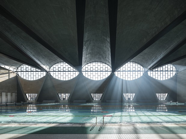 WINNER 2017: Photographer: Terrence Zhang. Project: Swimming Pool, New Campus of Tianjin University, China by Atelier Li Xinggang