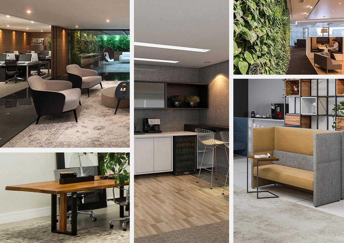 Ambientes preparados para estimular os cinco sentidos humanos, transmitindo acolhimento e bem-estar. Crédito: RS Design