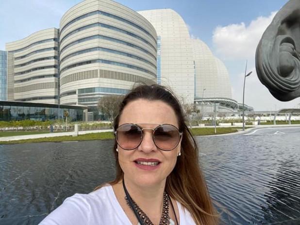 O Sidra Medical and Research Center em Doha, no Catar, tem uma estrutura externa extremamente moderna